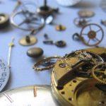 Horloge en pièces détachées